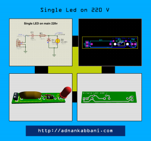 SIngle-LEd-on-220v