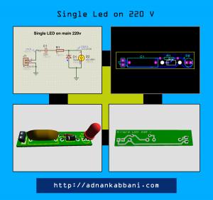 SIngle-LEd-on-220v