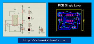 TImer-555-schematic-and-PCB