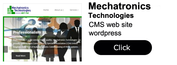 Mechatronics technologies