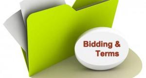 bidding & Terms