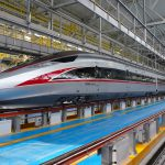 """China unveils a """"Bullet"""" train that can operate at 40 ° C"""