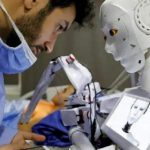 """An Egyptian inventor invents a robot capable of conducting """"Corona"""" tests"""