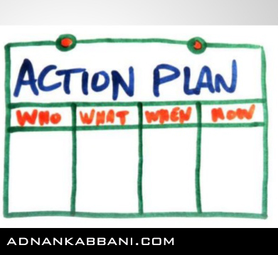 Action Plans  Adnan Kabbani